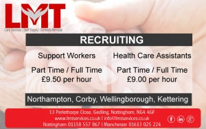 Jobs in Northampton, Corby, Wellingborough, Kettering